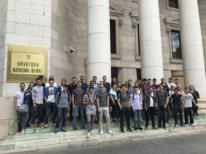 Studenti Verna U Okviru Terenske Nastave Posjetili Hrvatsku